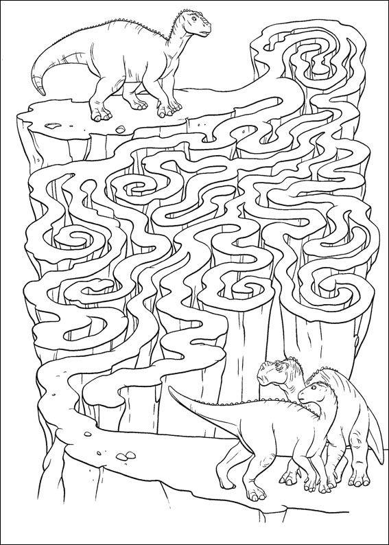 Jeu Du Labyrinthe À Imprimer | Jeux Coloriage, Dinosaure avec Jeux Gratuit Coloriage