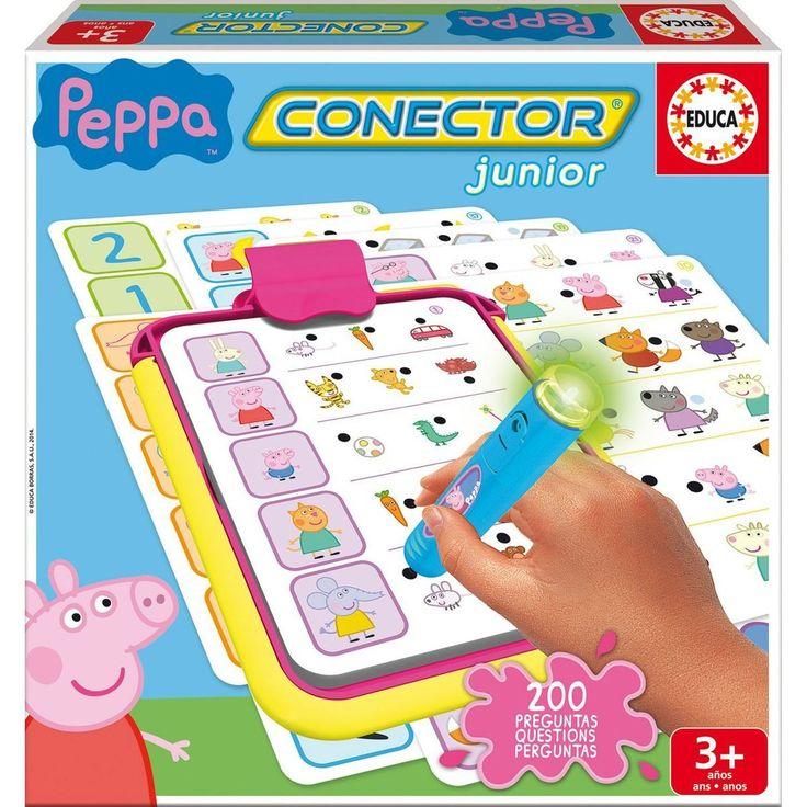 Jeu Éducatif Conector : Peppa Pig - Taille : Taille Unique à Jeux Peppa Pig Gratuit