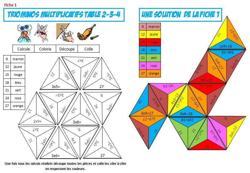 Jeu Gratuit Sur Les Tables De Multiplication | Le Blog De destiné Exercice Table De Multiplication À Imprimer