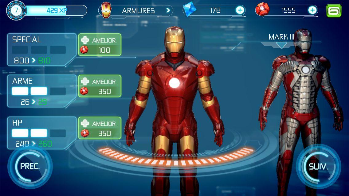 Jeu Mobiles Iron Man 3 destiné Jeux De Iron Man Gratuit