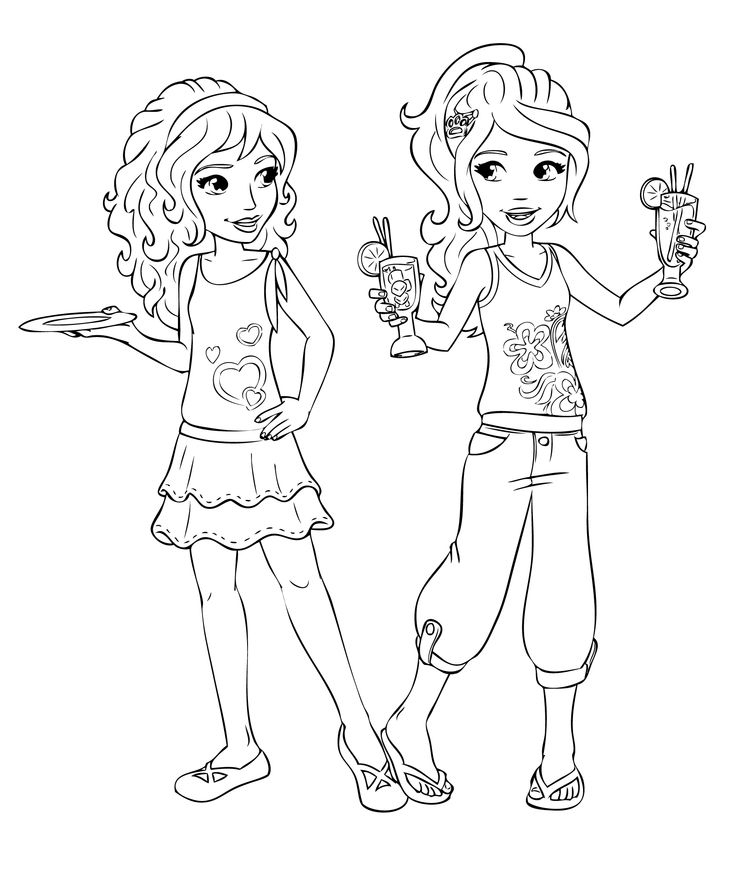 Jeux Coloriage Lego Friends encequiconcerne Dessin Animé Lego Friends