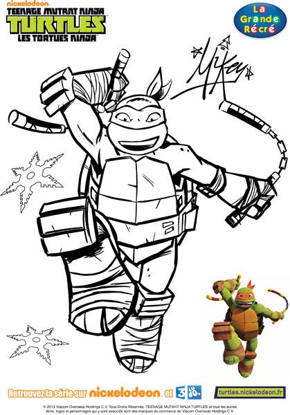 Jeux De Coloriage Tortues Ninja intérieur Coloriage Tortue Ninja À Imprimer