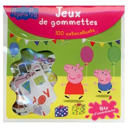 Jeux De Gommettes - L'Anniversaire De Peppa Pig - 100 avec Jeux De Peppa Pig Gratuit