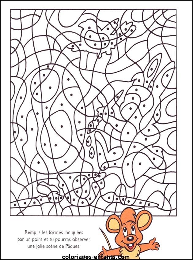 Jeux De Paques avec Jeux De Coloriage
