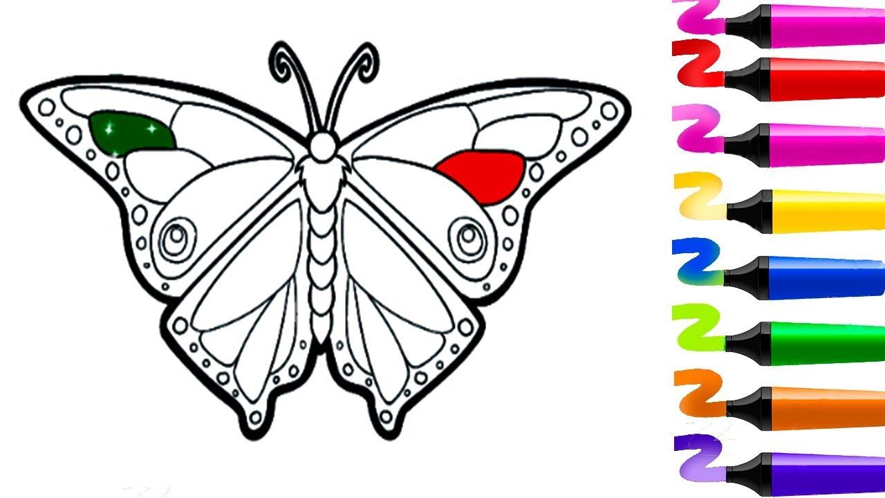 Jeux Gratuit! Coloriage À Imprimer! Dessin Papillon! Jeux à Dessin Papillon À Découper