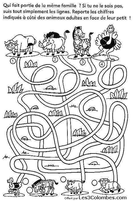 Jeux Labyrinthe Gratuit En Ligne serapportantà Jeux Coloriage Enfant