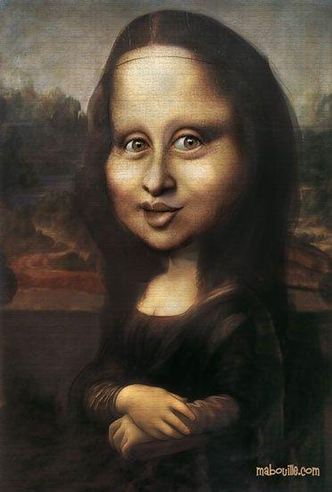 Joconde | Mona Lisa Parody, Mona Lisa, Mona Lisa Secrets concernant La Joconde Dessin