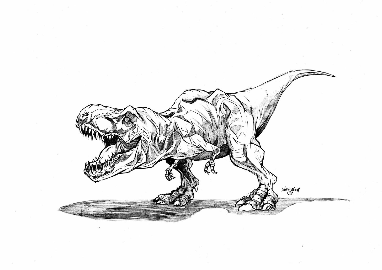 Jurassic Park Trex Colouring Pages | Jurassic Park Tattoo tout Coloriage Dinosaure Raptor