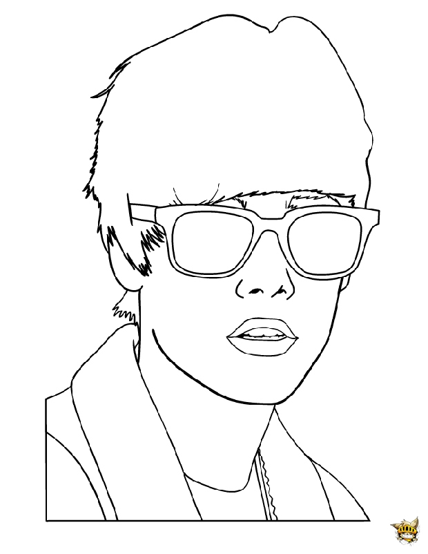 Justin La Classe Est Un Coloriage De Justin Bieber serapportantà Dessin De Justin Bieber