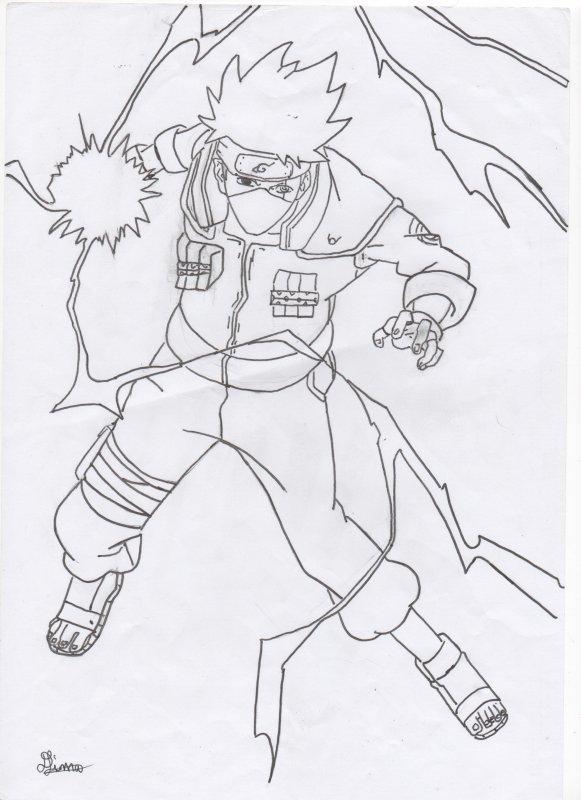 Kakashi Dessin 24 - Blog De Mrsdiidy tout Coloriage Naruto Et Kakashi
