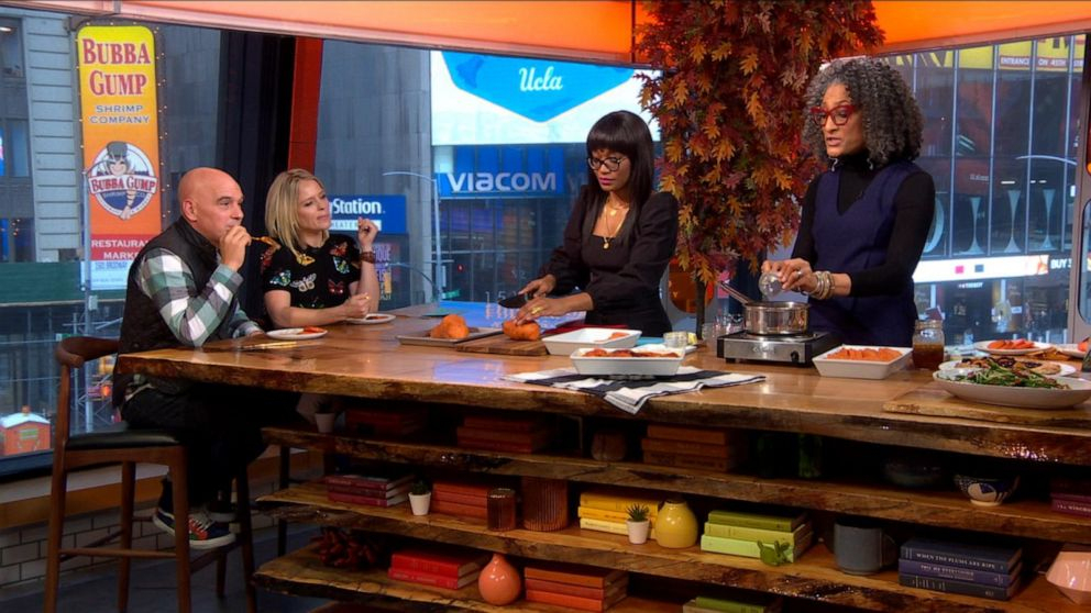 Keke And Carla Hall Make Candied Sweet Poes | Gma avec Sitemap_Abc?Famille=