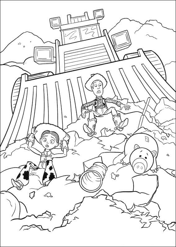Kids-N-Fun | 34 Coloring Pages Of Toy Story 3 avec Dessin Toy Story 3