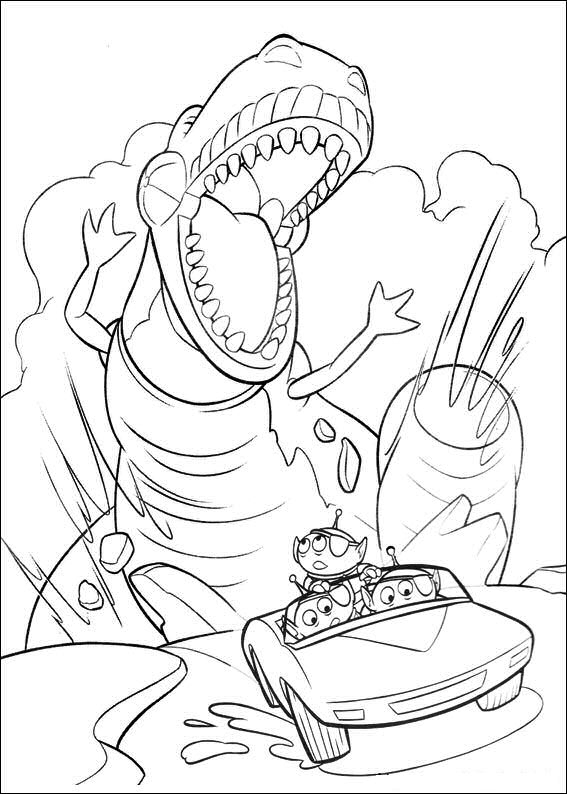 Kids-N-Fun | 34 Coloring Pages Of Toy Story 3 intérieur Dessin Toy Story 3