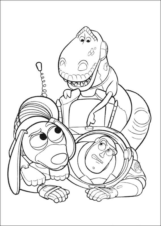 Kids-N-Fun | 34 Coloring Pages Of Toy Story 3 tout Dessin Toy Story 3