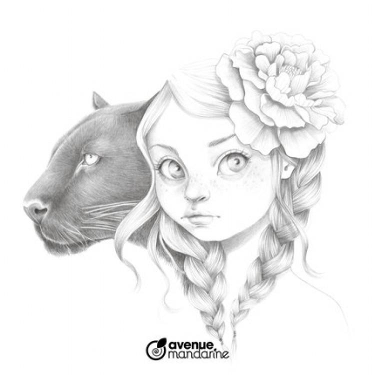 Kleurboek Coloriage Wild 4 - Emmanuelle Colin | Hobbyshop concernant Coloriage Wild 4
