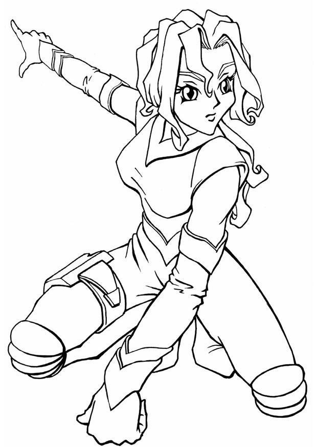 Kleurplaat Manga Spacegirl. Gratis Kleurplaten Om Te Printen. encequiconcerne Coloriage De Fortnite A Imprimer Gratuitement