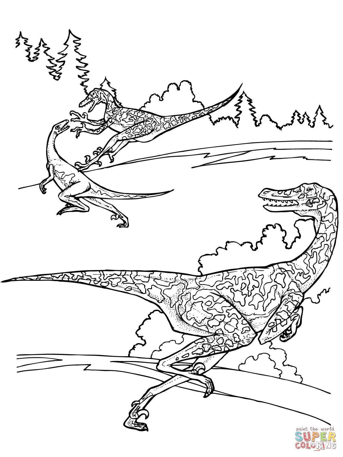 Kleurplaat Wagon Kleurplaat Dharma Wiel Afb 25627 Images destiné Coloriage Dinosaure Raptor