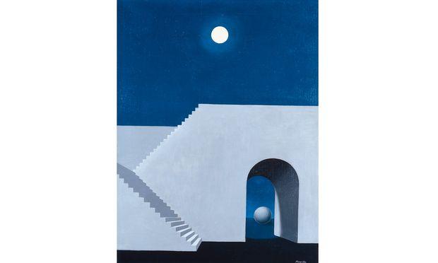 Kunst Und Kosmos Im Museum « Diepresse pour Au Clair De La Lune Text