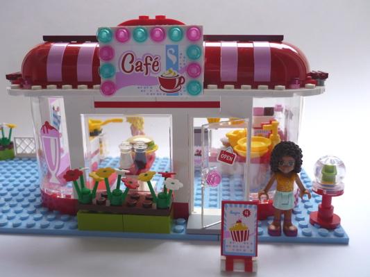 La Boîte À Bazar: Café Lego Friends avec Ecole Lego Friends