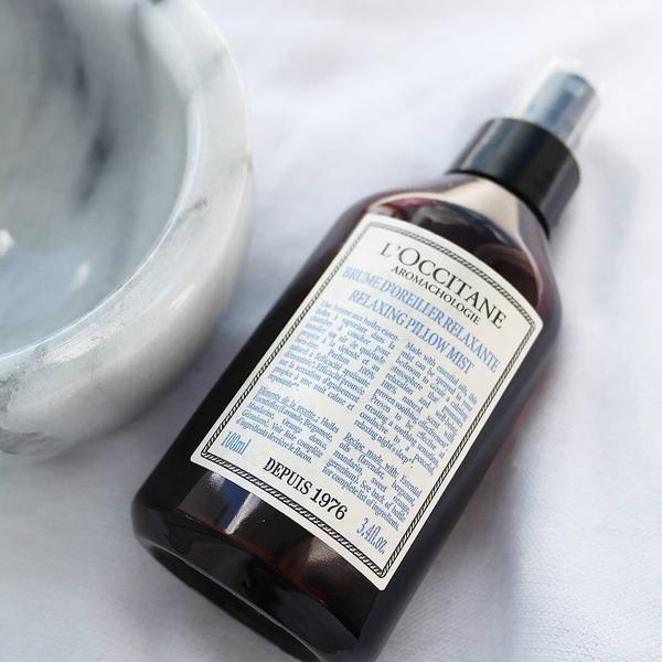 La Brume D'Oreiller Relaxante Aromachologie, Un Spray à Brumr Doreiller Relaxante