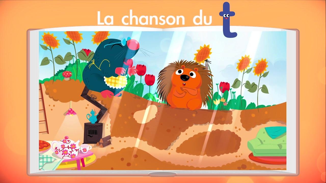 La Chanson Du Son T (Méthode J'Apprends À Lire Avec Léon encequiconcerne Le Hérisson Chanson