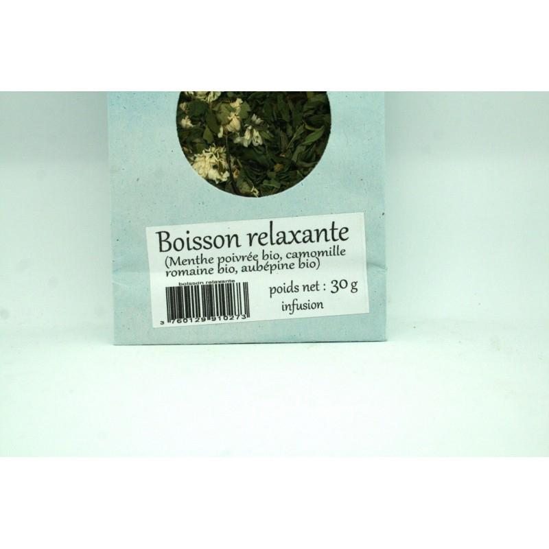La-Correzienne - Tisane Vrac Bio Relaxante Du Jardin concernant Tisane Relaxante