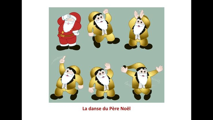 La Danse Du Père Noël Eléa Zalé Chanson Noël 2017 destiné Chansons Du Pere Noel