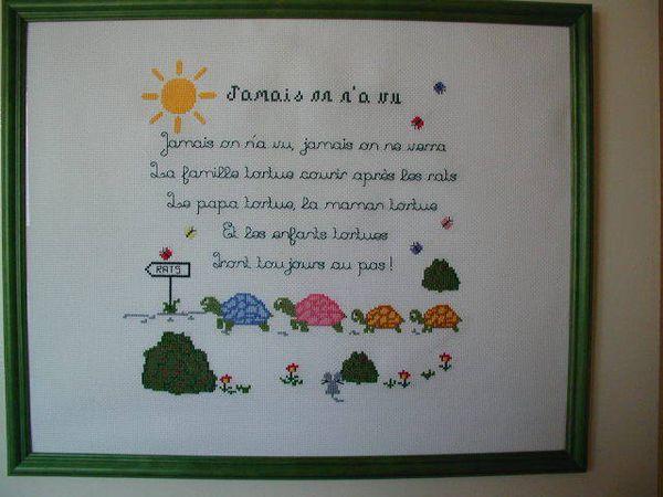 La Famille Tortue - Myosotis Créations à Parole Famille Tortue