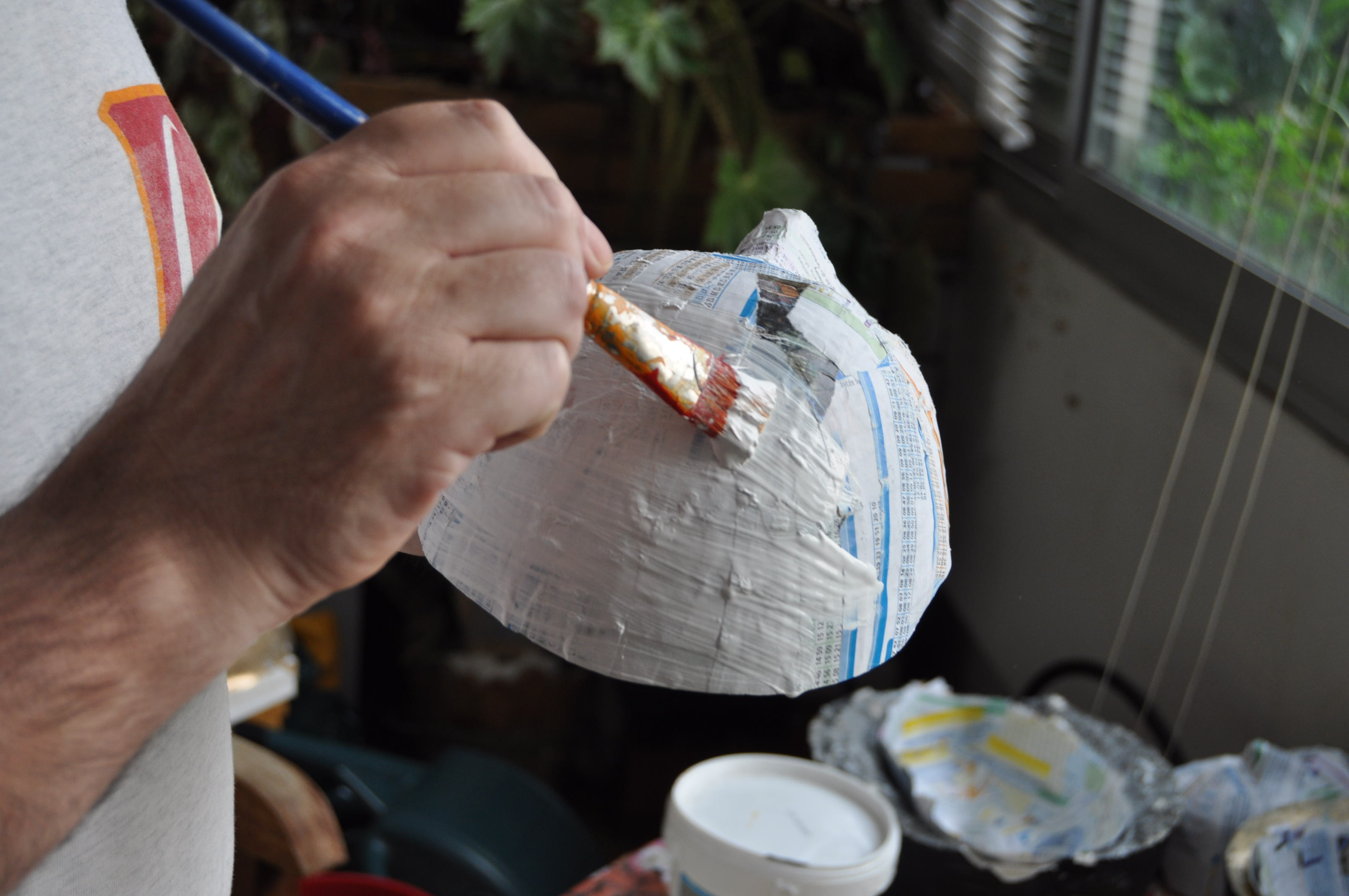 La Genèse De Nos Costumes 2012 (Suite 4 – La Fabrication D tout Fabrication Masque Halloween