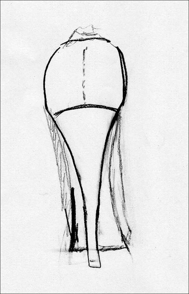 La Gourmandise - Le Bouillon Mode destiné Dessin De Chaussure A Talon