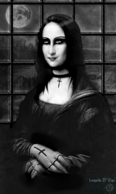 La Joconde | La Joconde, Dessins Gothiques Et Mona Lisa à La Joconde Dessin