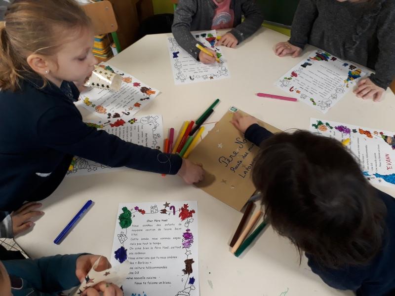 La Lettre Au Père Noël – Bienvenue À L'École Saint Vital dedans Lettre Au Pere Noel 2020