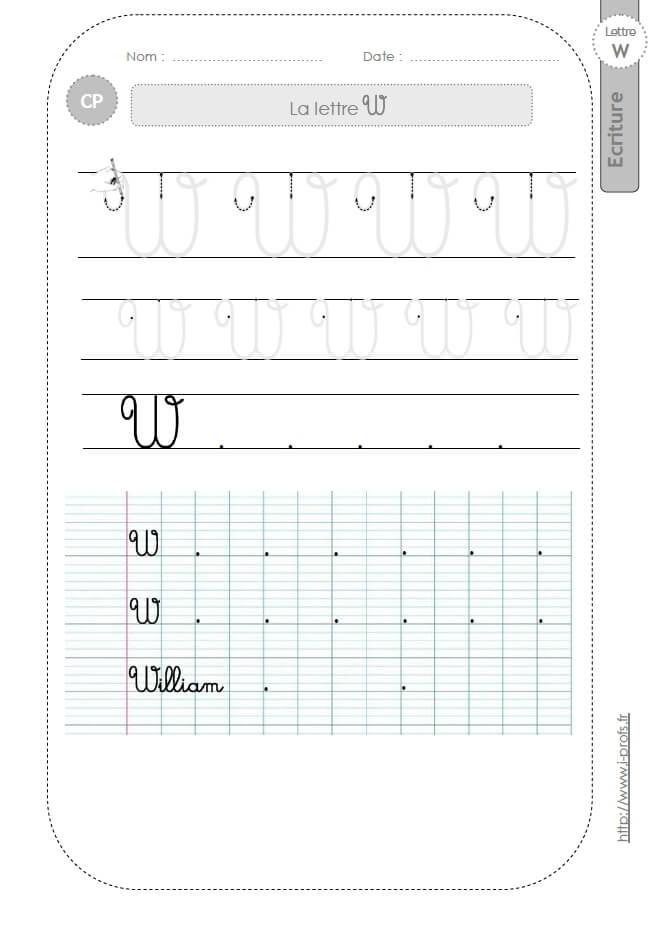La Lettre V Majuscule Au Cp:fiches D'Ecriture. Modèles D encequiconcerne Lettre En Cursive Majuscule
