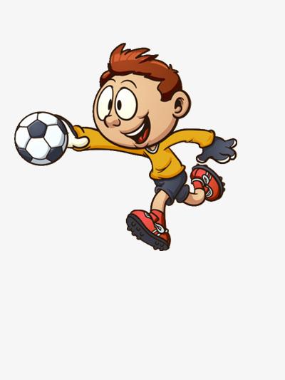 La Main Avec Le Ballon De Foot Couleur Dessin Mouvement serapportantà Dessin Animé De Foot
