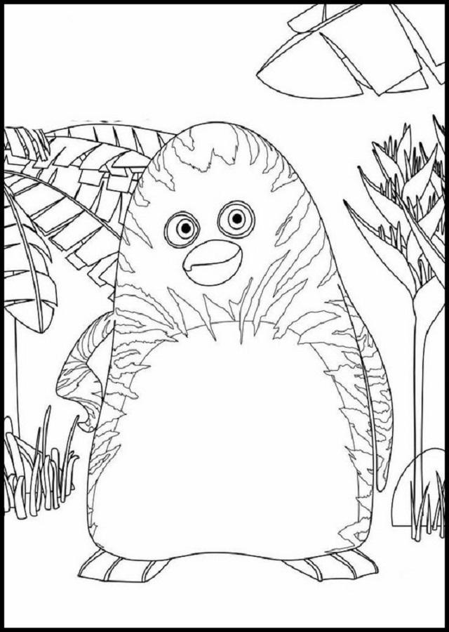 La Panda De La Selva - Dibujosparacolorear.eu dedans Coloriage Animaux De La Jungle Gratuit