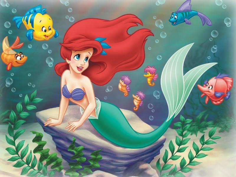 La Petite Sirène : Coloriage Ariel La Petite Sirène À intérieur Dessin Ariel La Petite Sirene A Imprimer