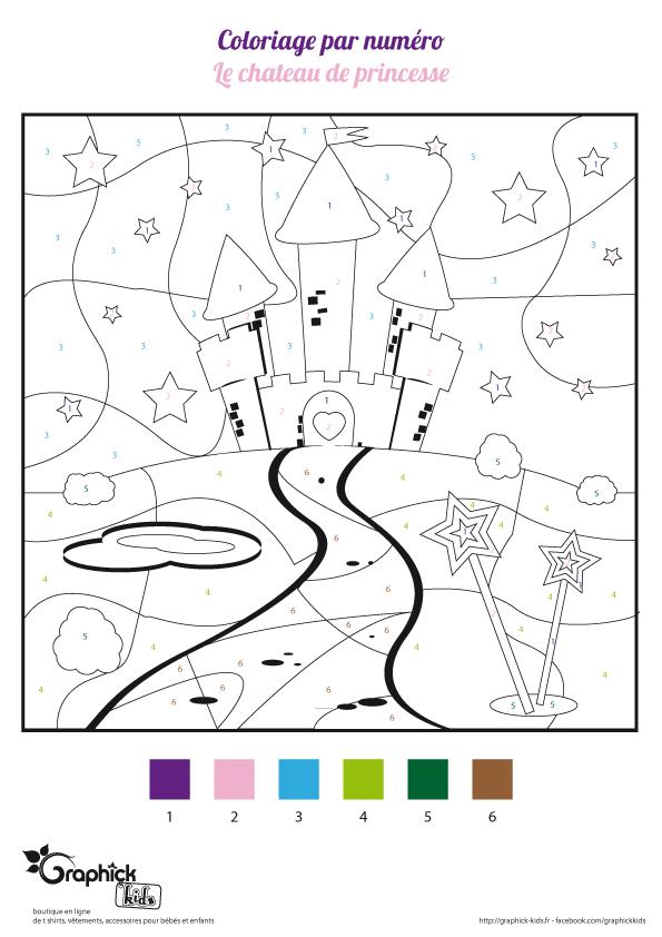 L'Activité Du Mercredi : Le Château De Princesse dedans Coloriage Chateau Princesse
