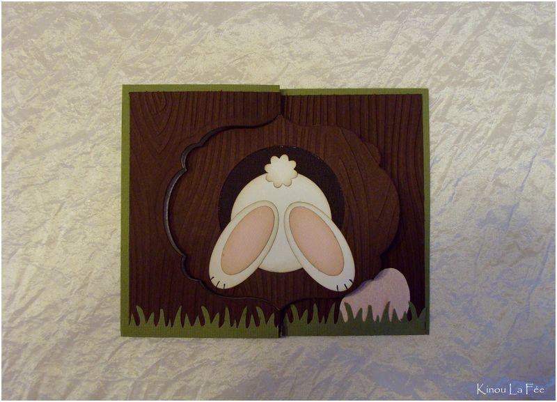 Lapin De Pâques ! - Kinou La Fée | Lapin De Paques, Carte pour Le Petit Lapin S Est Caché Dans Le Jardin