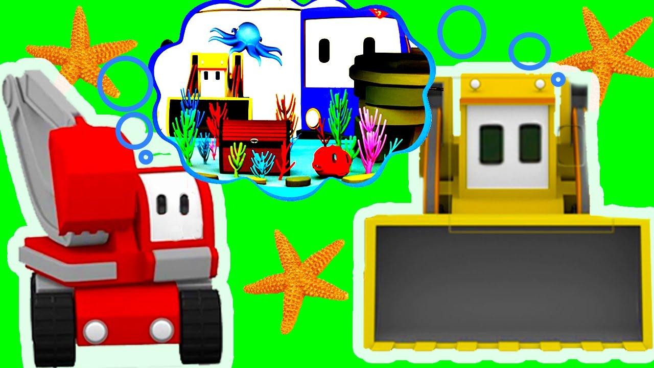 L'Aquarium - Apprendre Avec Tiny Trucks: Bulldozer, Grue encequiconcerne Dessin Animé Camion Grue
