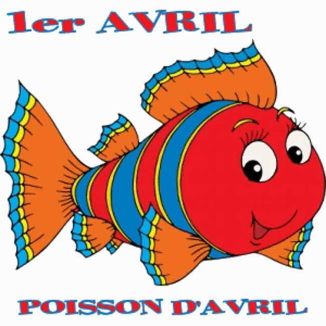 Le 1Er. Avril, Poisson D'Avril! - Boîte Au Fle encequiconcerne Poisson D Ariel