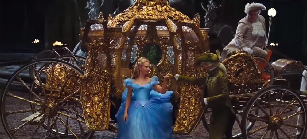 Le Carrosse De Cendrillon À Disney's Hollywood Studios destiné Le Portrait De Cendrillon