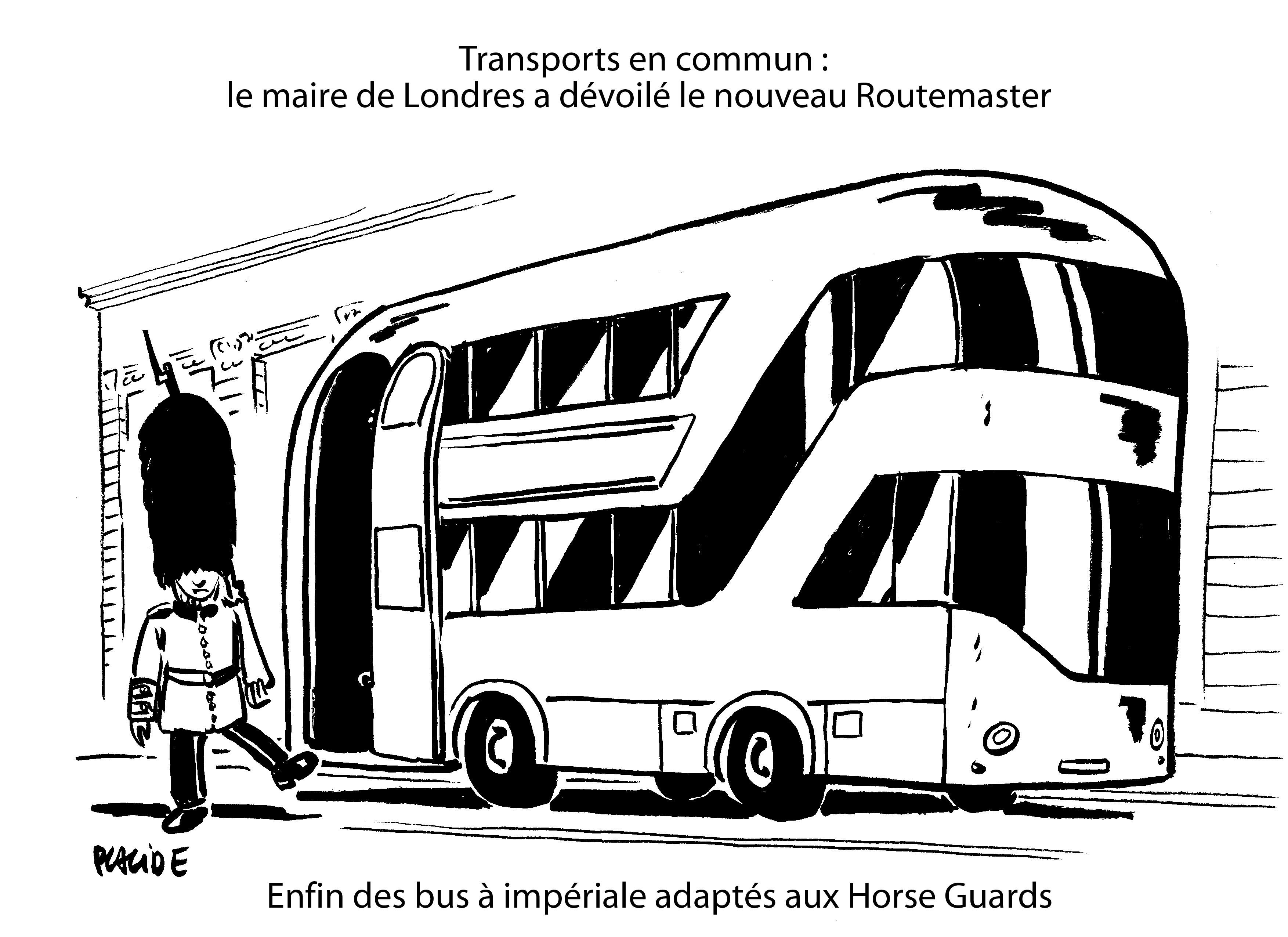 Le Dessin Du Jour – Aménagement Favorable Du Futur Bus À à Dessin Bus Anglais