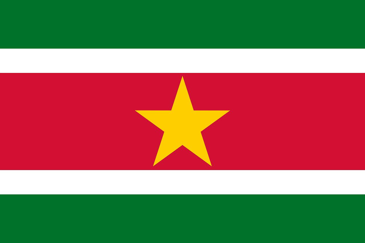 Le Drapeau Du Suriname – Les Plus Beaux Drapeaux Du Monde à Drapeaux Du Monde À Imprimer