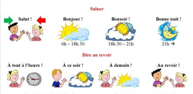 Le Français C'Est Super!: Bonjour! Comment Tu T'Appelles tout Bonjour Monsieur Lundi. Comment Ca Va