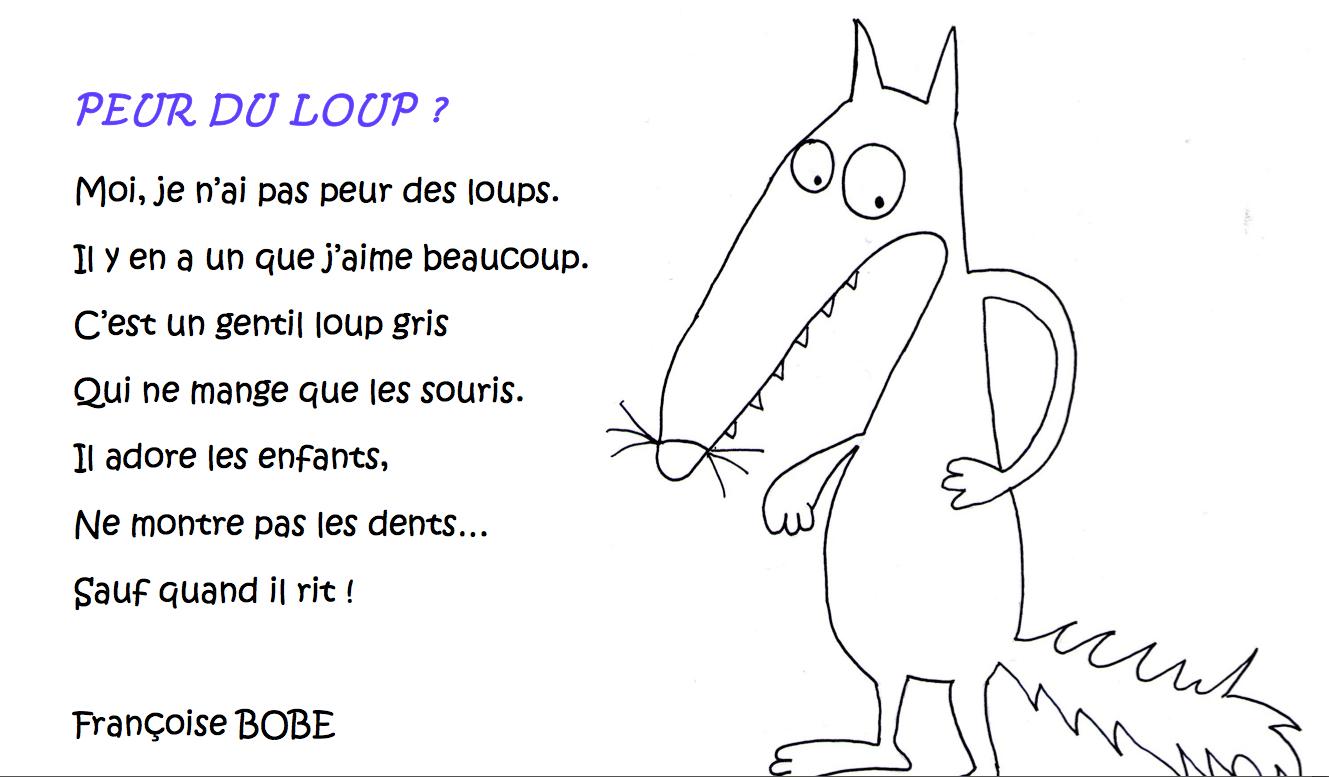 Le Loup… – Le Partage, C'Est Classe…Maternelle! encequiconcerne Coloriage Loup Maternelle