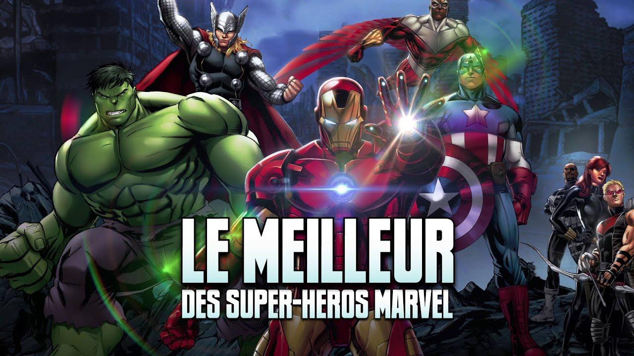 Le Meilleur Des Super-Héros Marvel - pour Super Héros Fille Marvel