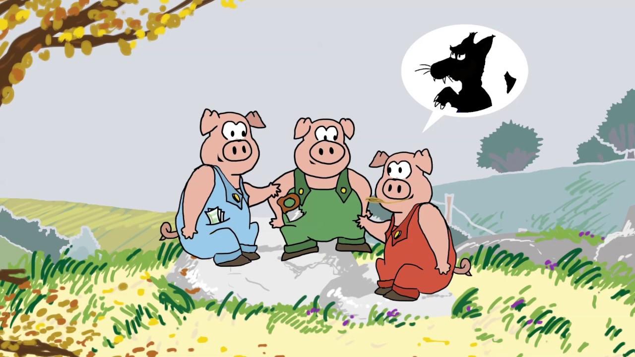 Le Mensonge Des Trois Petits Cochons - Compagnie Des encequiconcerne Dessin Petit Cochon