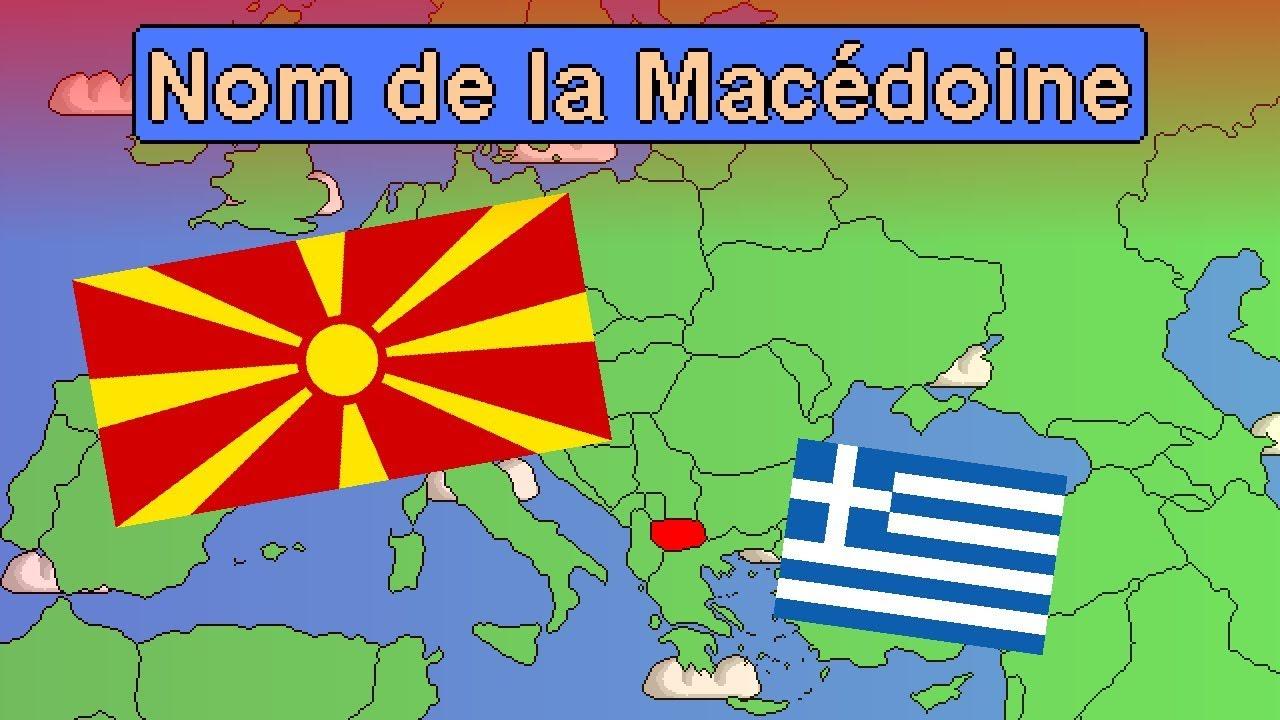 Le Nom De La Macédoine Et Macédoine Du Nord - tout Les Nounous Du Nord
