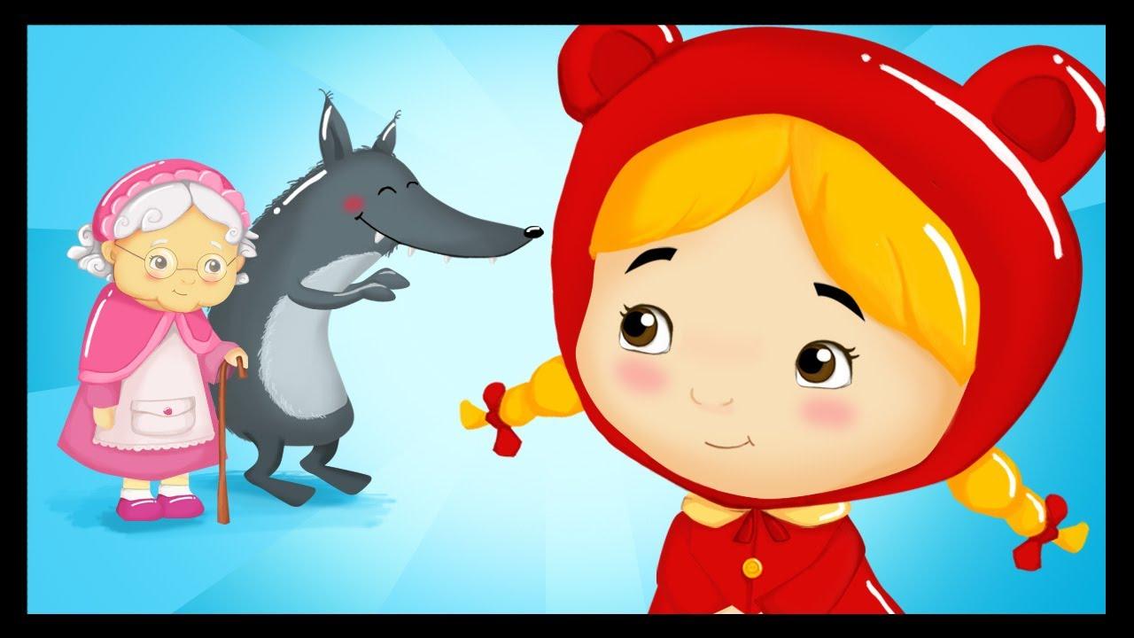 Le Petit Chaperon Rouge Dessin Animé En Français - encequiconcerne Coloriage Dessin Animé