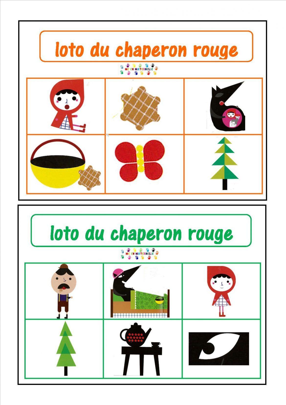 Le Petit Chaperon Rouge – Mc En Maternelle | Chaperon avec Mc En Maternelle